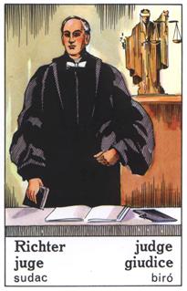 Ciganska karta Sodnik
