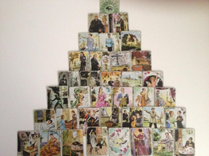 Piramida energij ciganskih kart