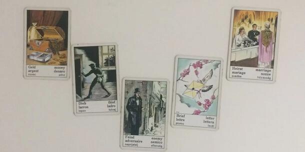 otvoritve ciganskih in tarot kart